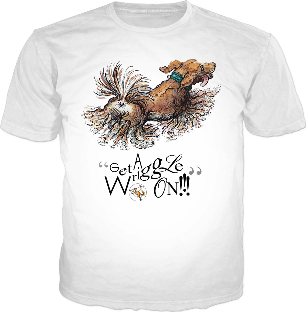 Get a wriggle on! - by LaRenard - Mens Tee