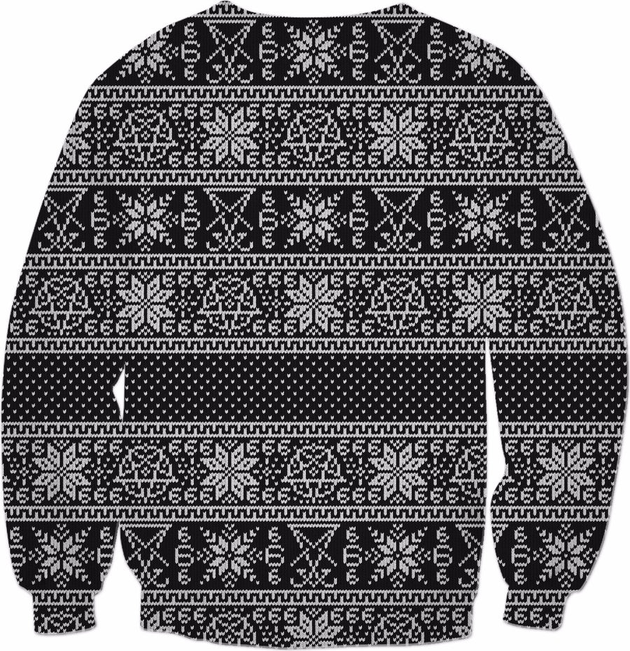 Satanic ugly sweater