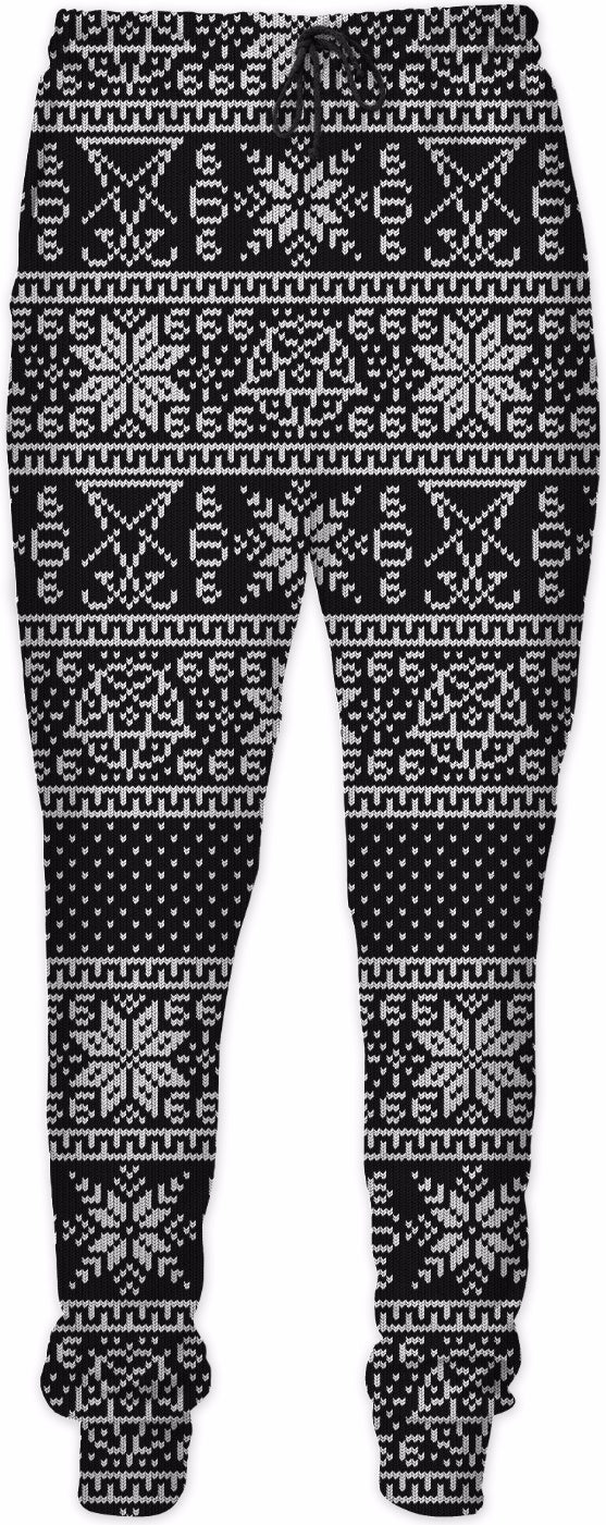 Satanic ugly pants