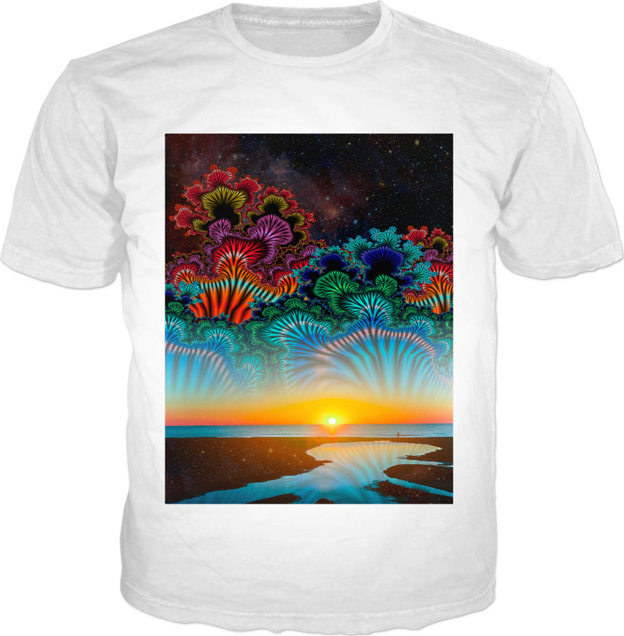 Daybreak at the Edge of the Universe - Classic T-Shirt White