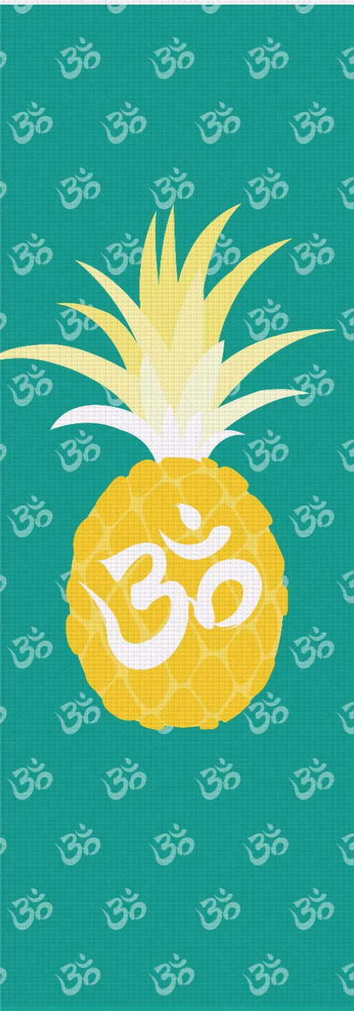 Om Pineapple Yoga Mat