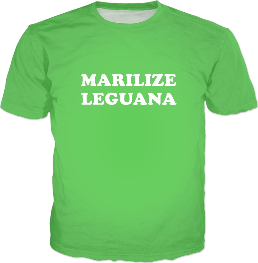 Marilize Leguana T-Shirt - Legajuana Funny Saying