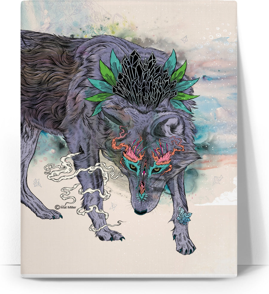 Journeying Spirit (Wolf)