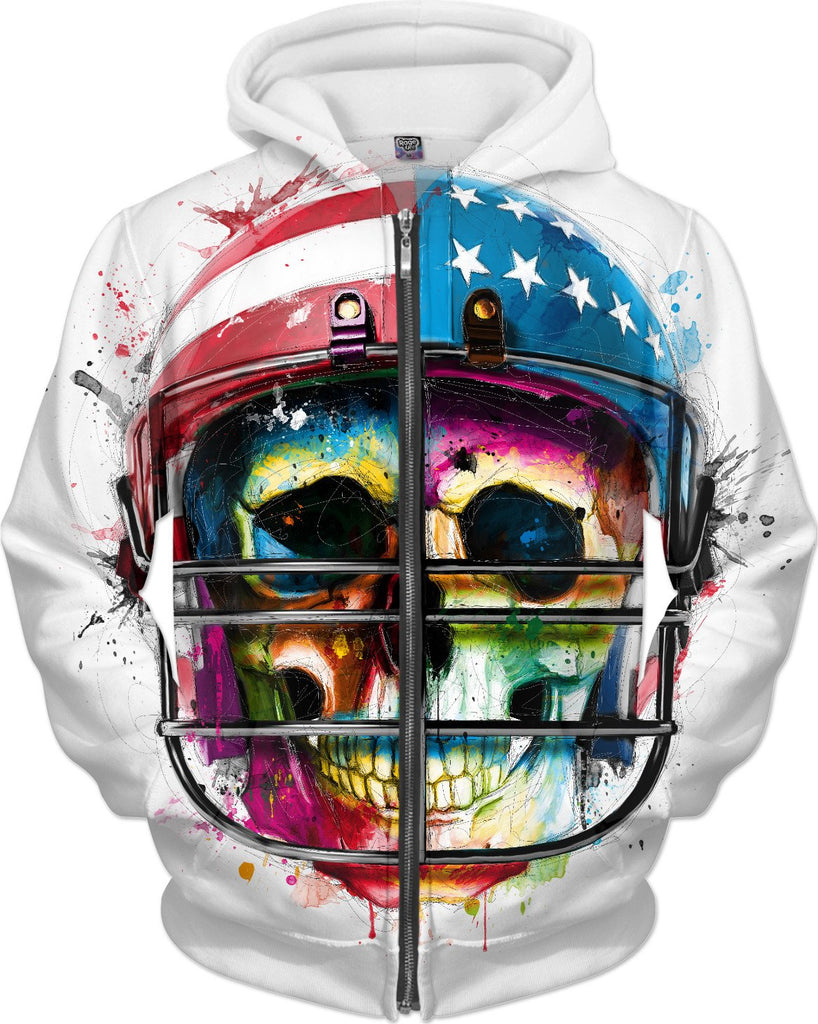 Born in the USA Hoodie by Patrice Murciano