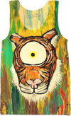 Spirit Animal Sight: Tigers Eye Tank Top