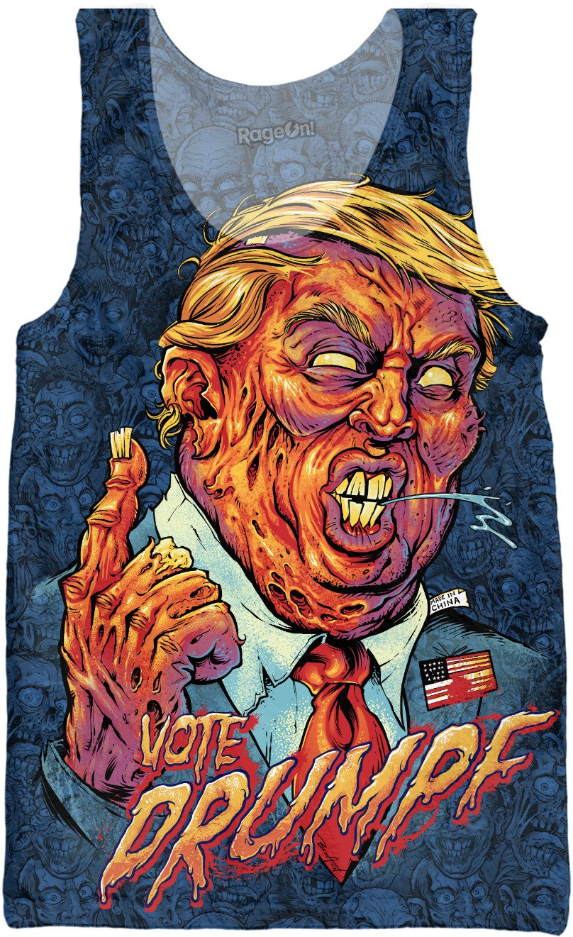 Donald Trump Zombie Tank Top