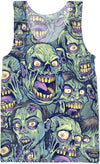 Zombie Repeatable Pattern