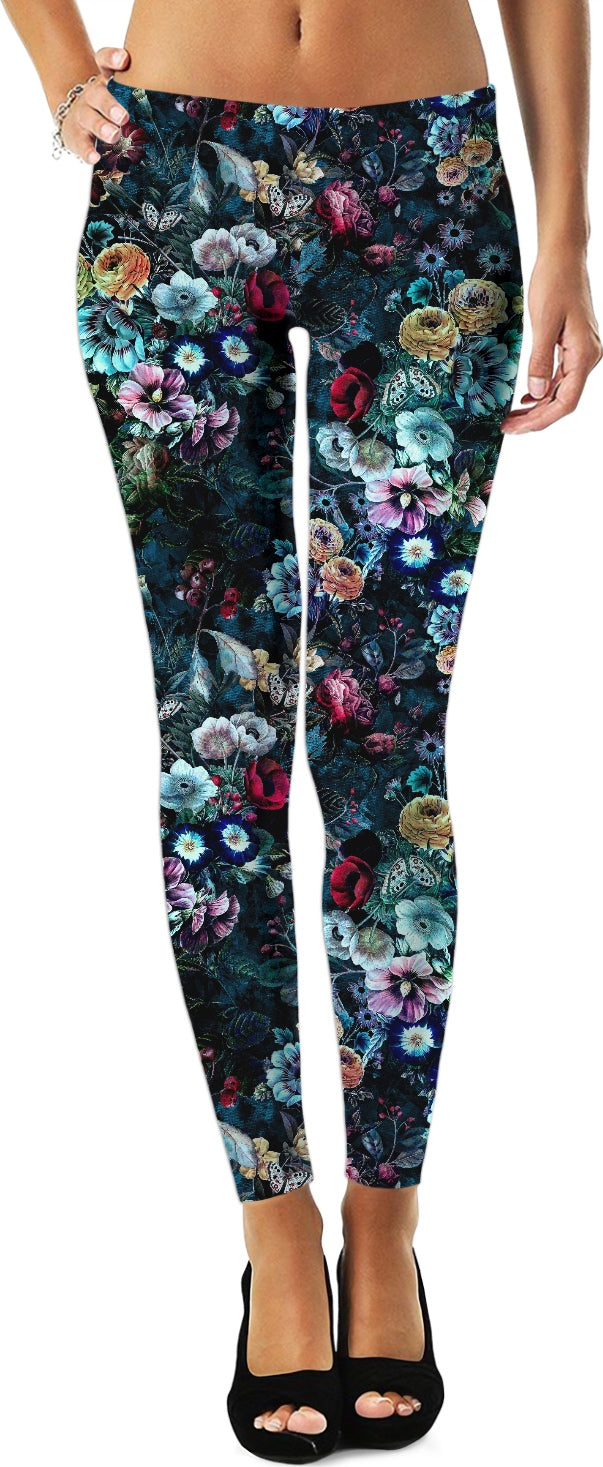 Night Garden Leggings