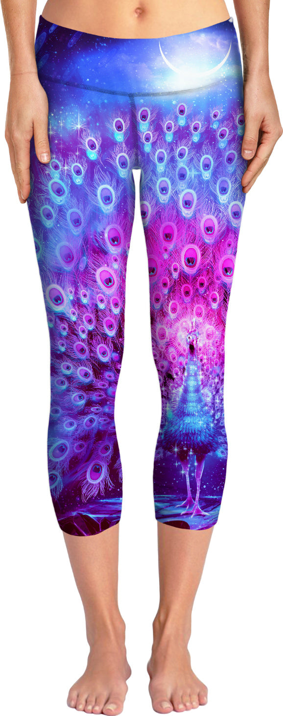 Peacock Yoga Pants