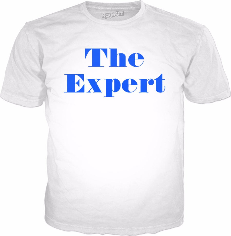 The Expert White T-Shirt