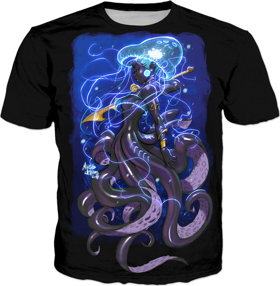 MerMay #3 Octavia Mermaid (Mens Black)