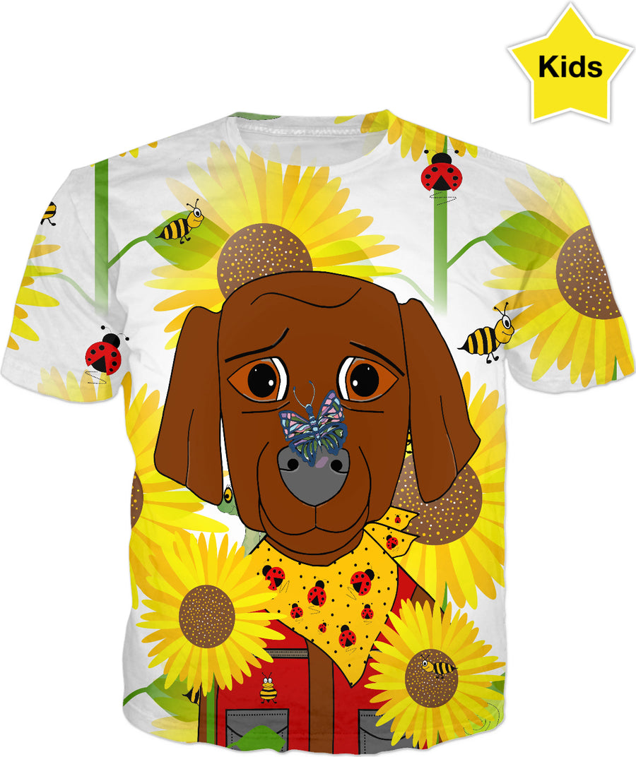 Dog Nature Lover Kids T-Shirt