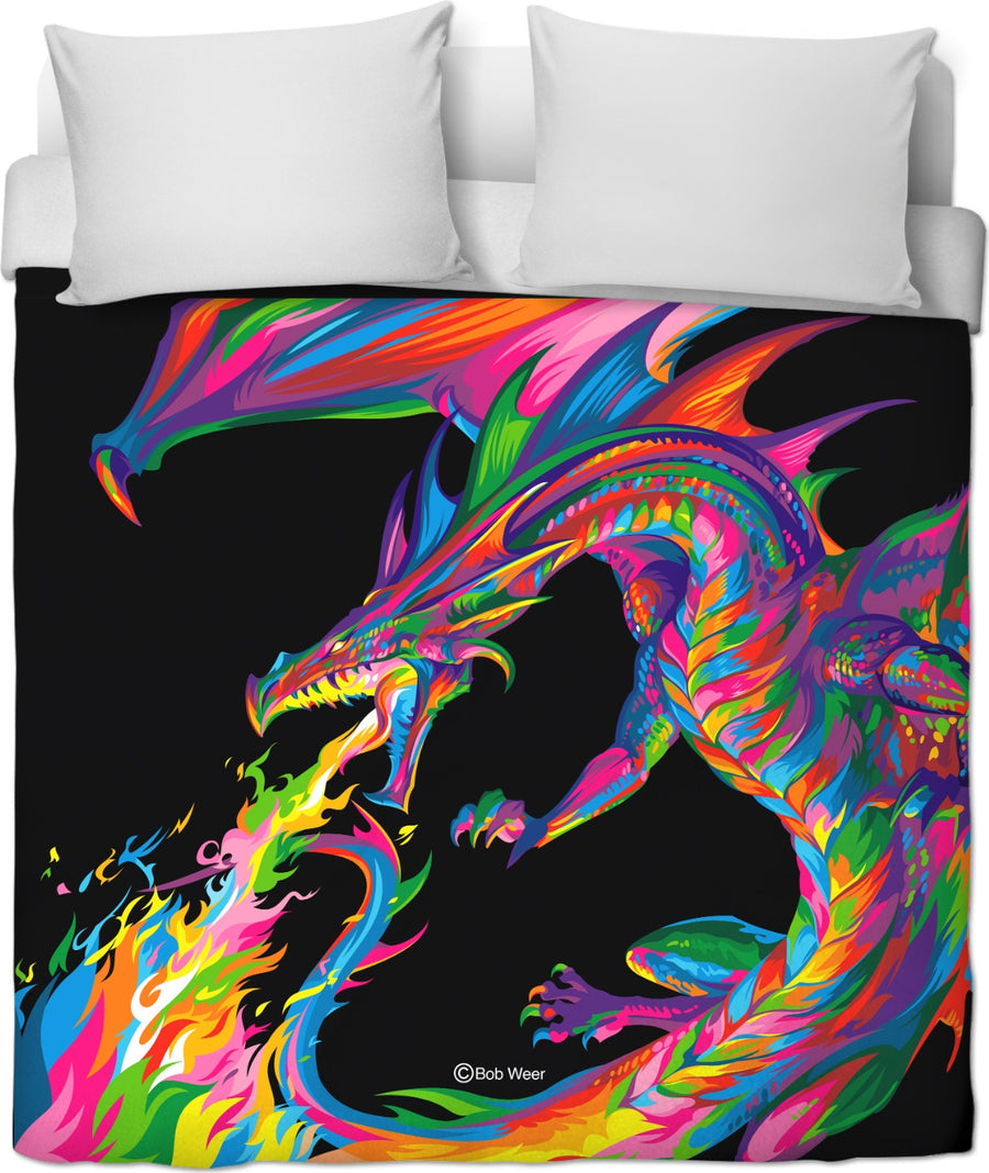 Fantasy Dragon Duvet Cover