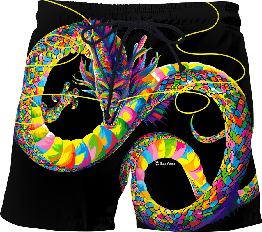 Chinese Dragon Swim Shorts