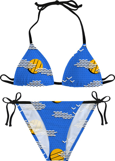 abstract sunny day bikini