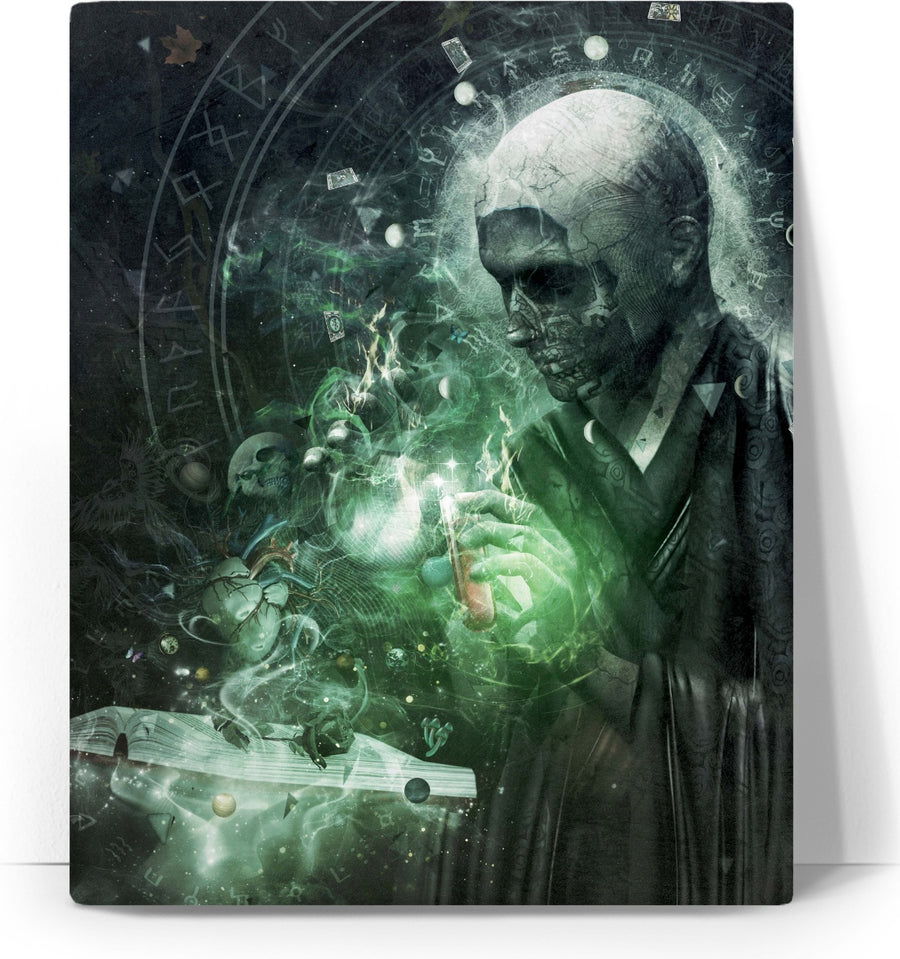 The Alchemist - Canvas Art Print