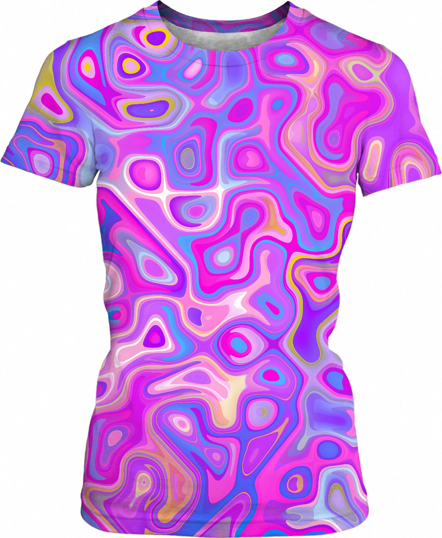 Color Nuggets Womens T-Shirt