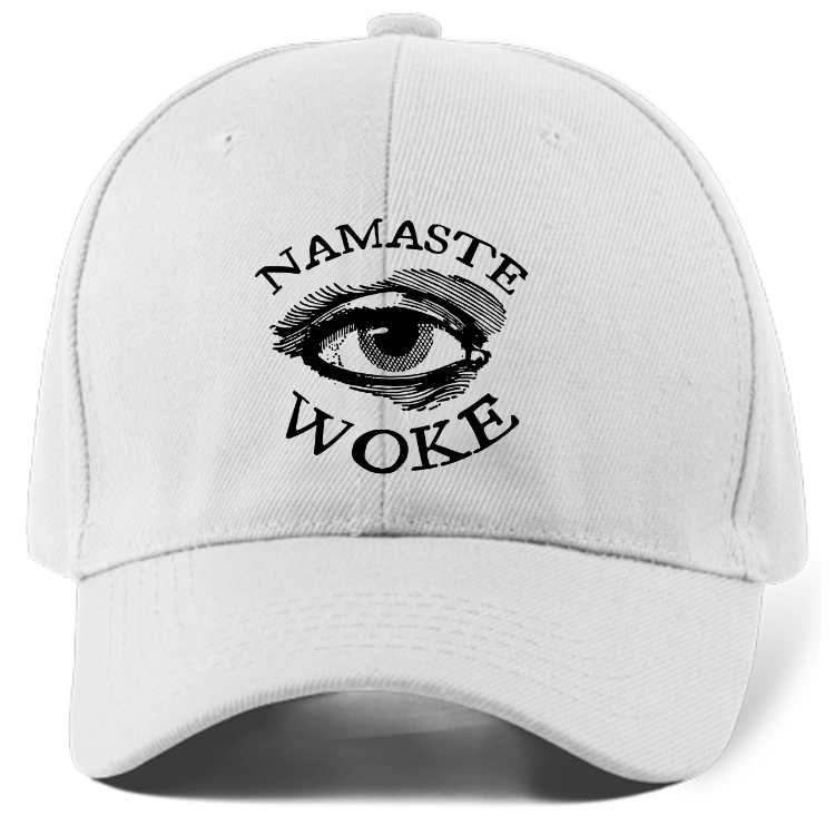 Namaste Woke Dad Hat