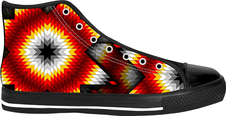 Oyate Graffix Wichahpi Star Shoes 1