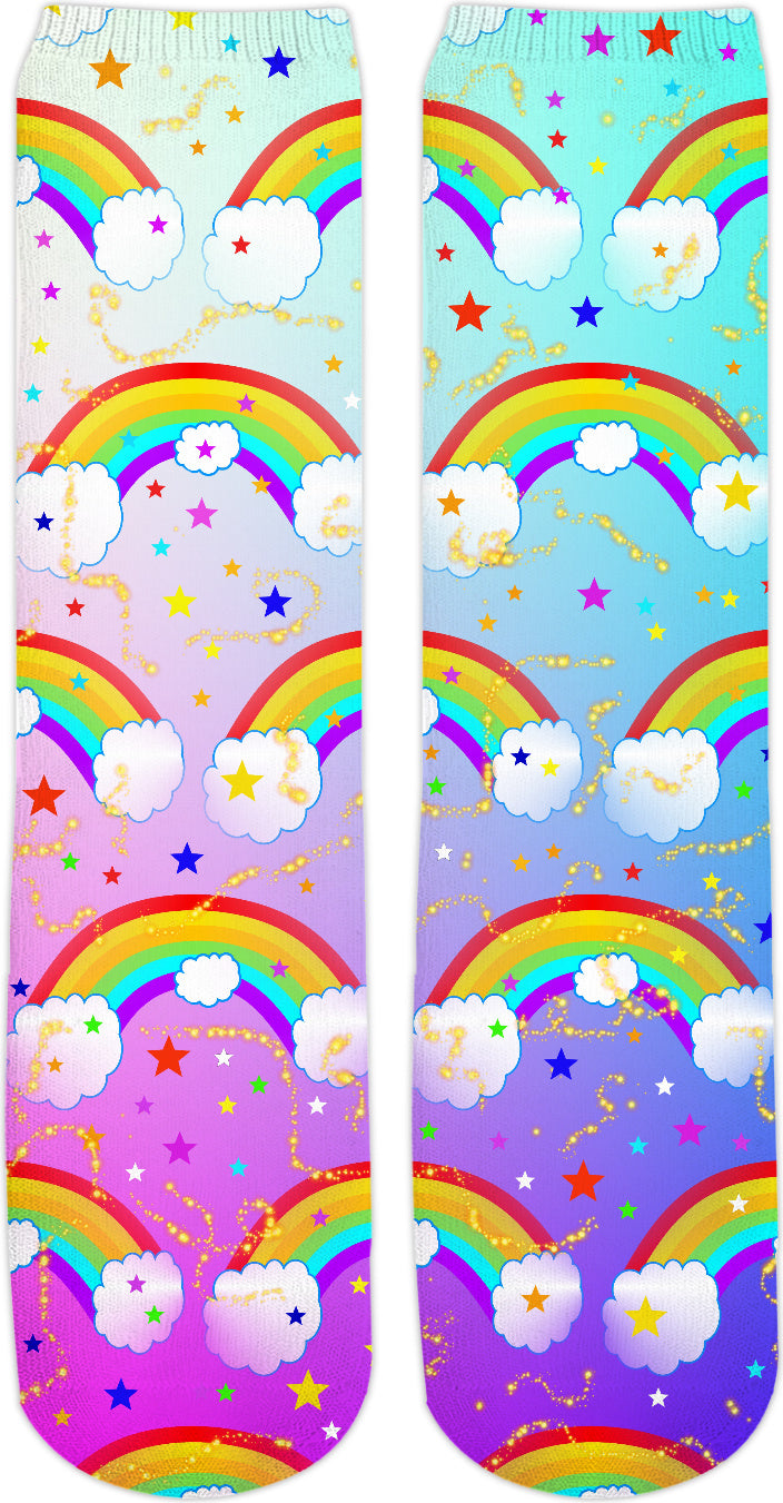 Rainbow Dreams Crew Socks