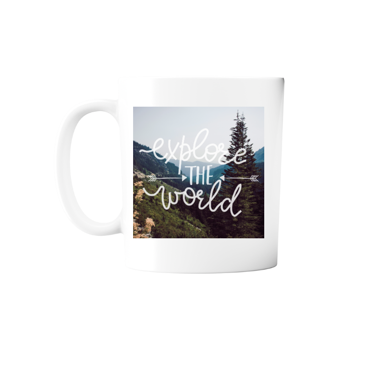 Explore the World Mug