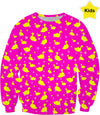 Just Ducky Pink Kids Sweatshirt