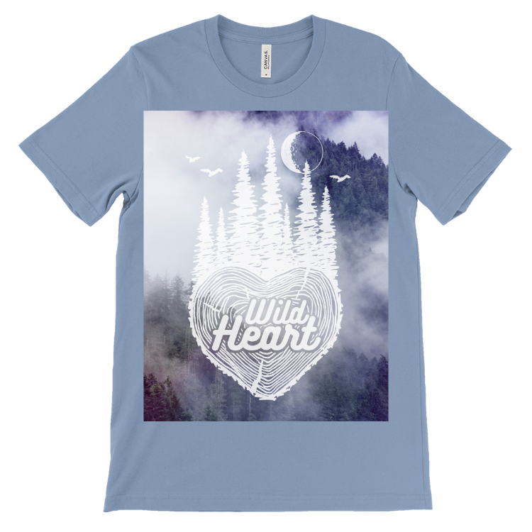 Wild Heart Fog T-Shirt