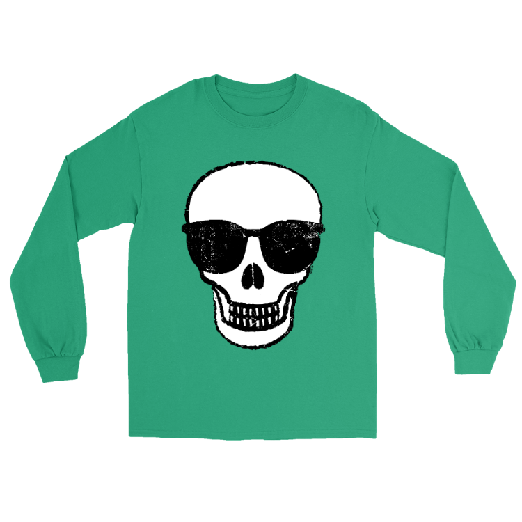 Skull Glasses Long-Sleeve Shirt