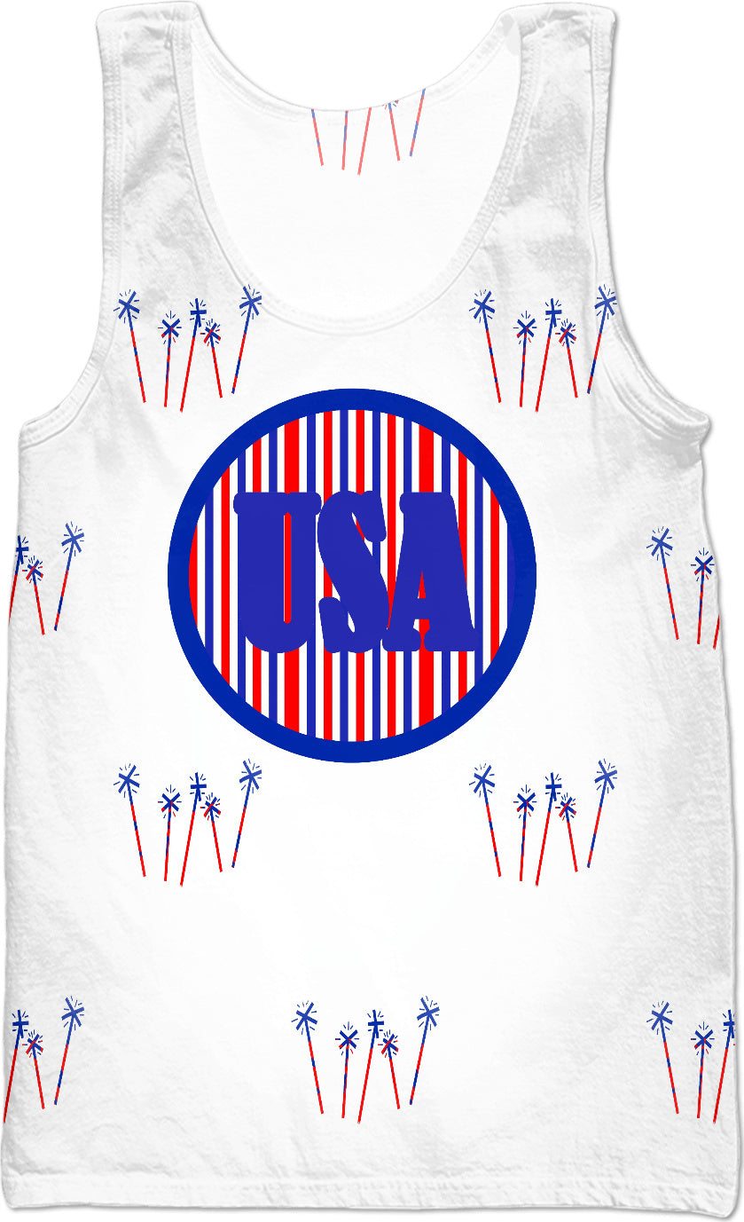 USA Celebration Tank Top