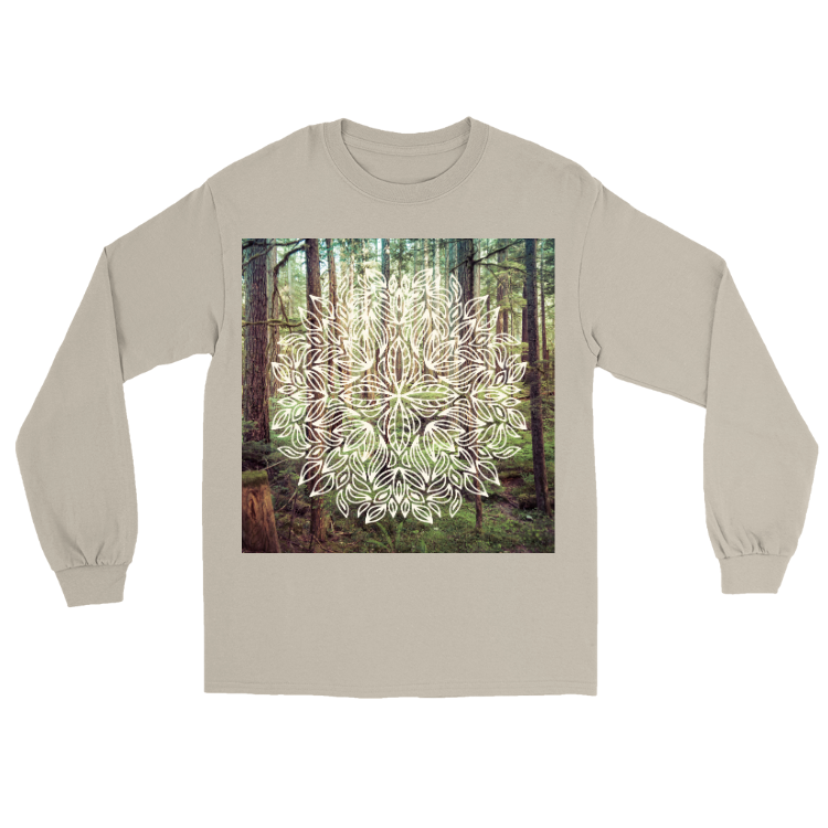 Deep Forest Mandala Long Sleeve
