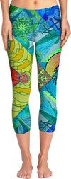 Expansion Pleiadian Lightwork Model - Yoga Pants