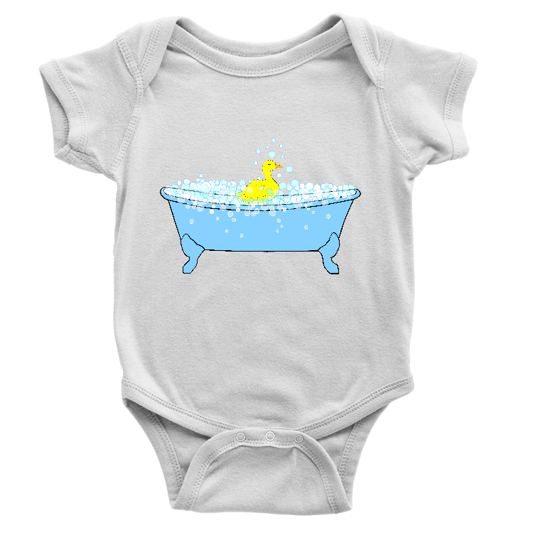 Bath Time Rubber Ducky Onesie
