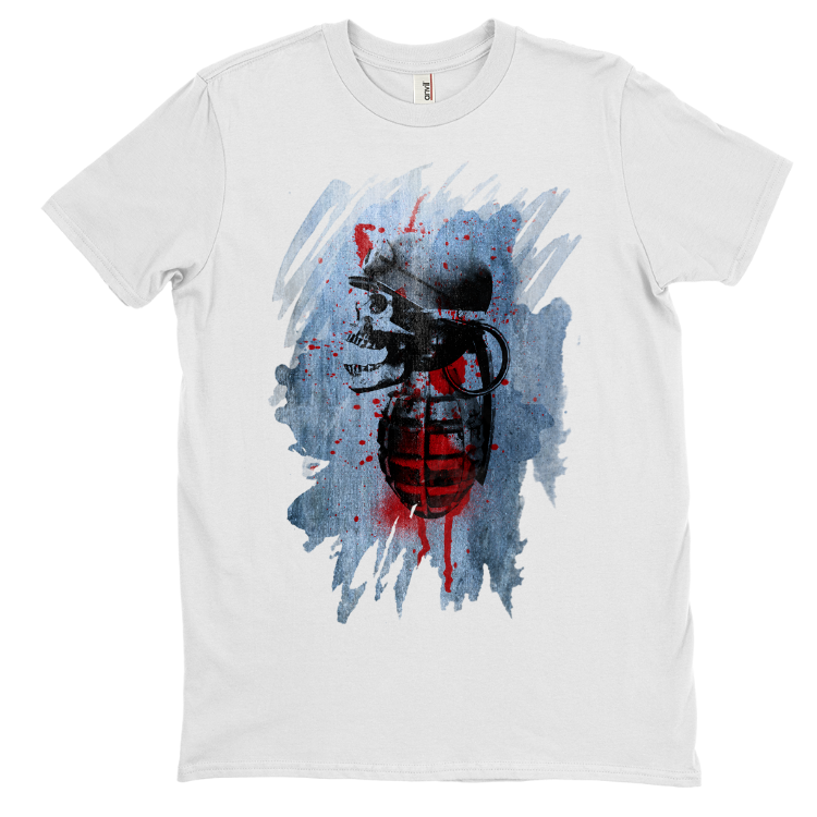 """War Face"" Red By Daveed Benito T-Shirt"