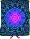Mandala Love - Fleece Blanket
