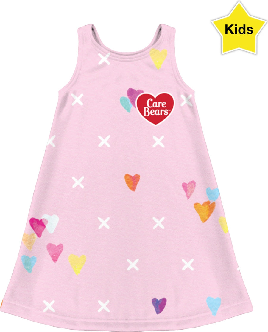 Care Bears Pattern Kids Dress