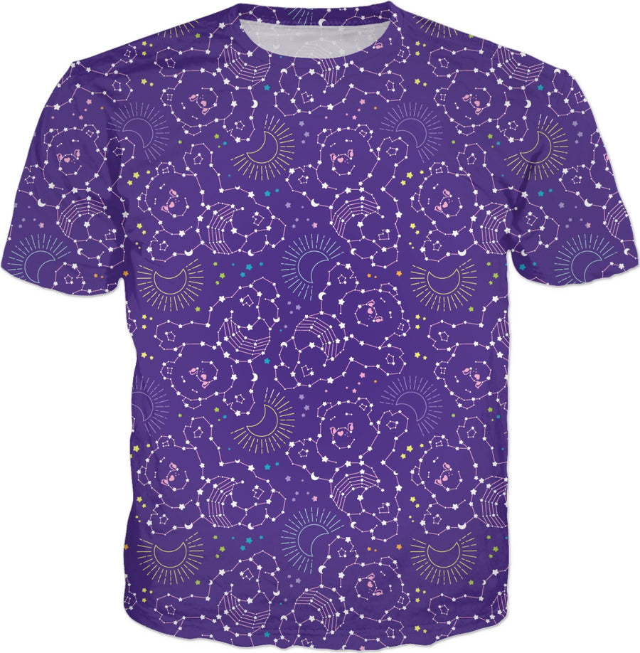 Cosmic Care Bears Constellations T-Shirt
