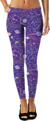 Cosmic Care Bears Inverted Leggings