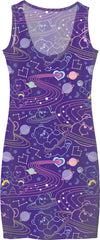 Cosmic Care Bears Inverted Dress