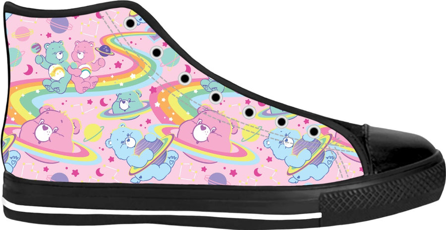 Cosmic Care Bears High Tops