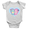 Cosmic Care Bears Planets Baby Onesie