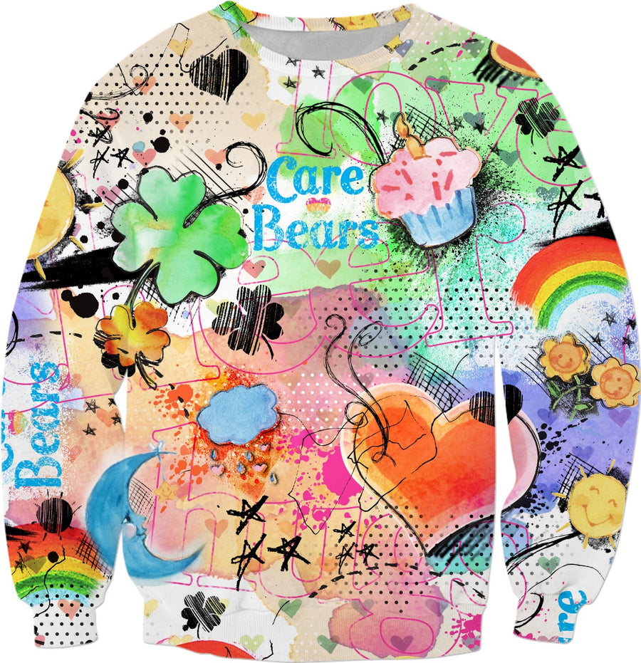Care Bears Watercolor Sweatshirt