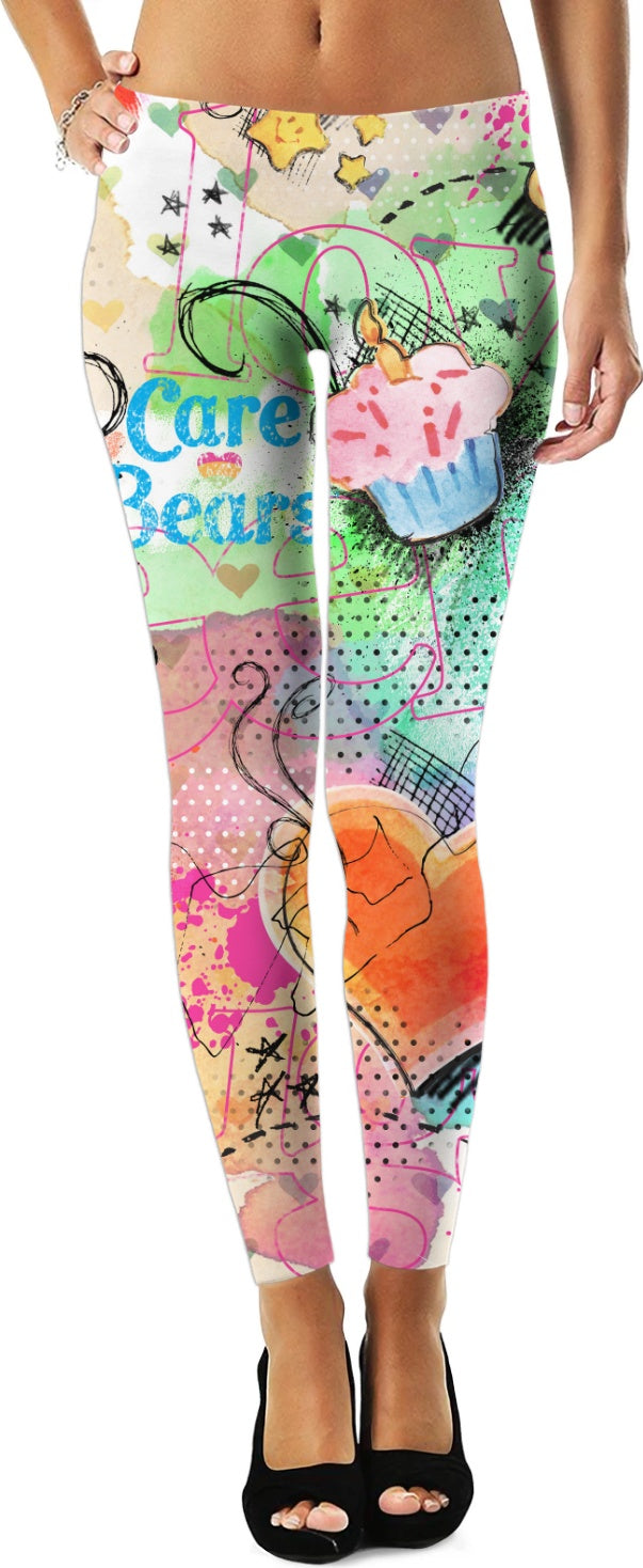 Care Bears Watercolor Leggings