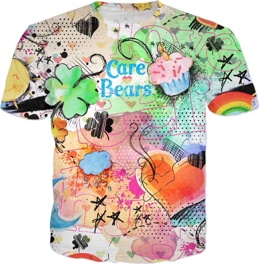 Care Bears Watercolor T-Shirt