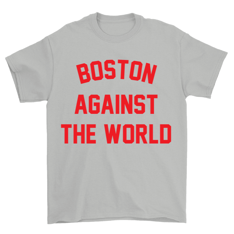 Boston Against the World v2 T-Shirt