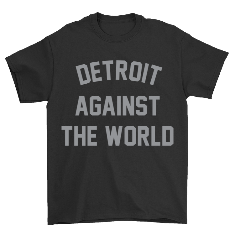 Detroit Against the World v2 T-Shirt