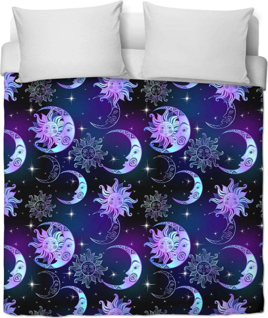 Sun and Moon - Duvet Cover