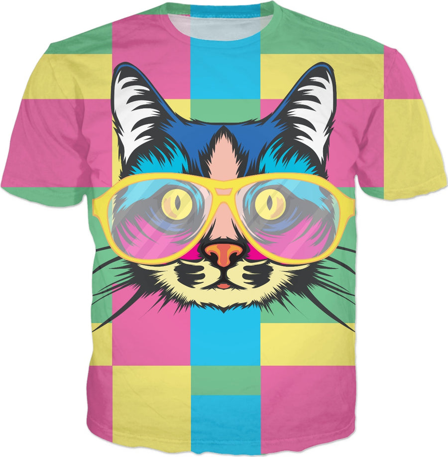Trippy Cat - T-Shirt