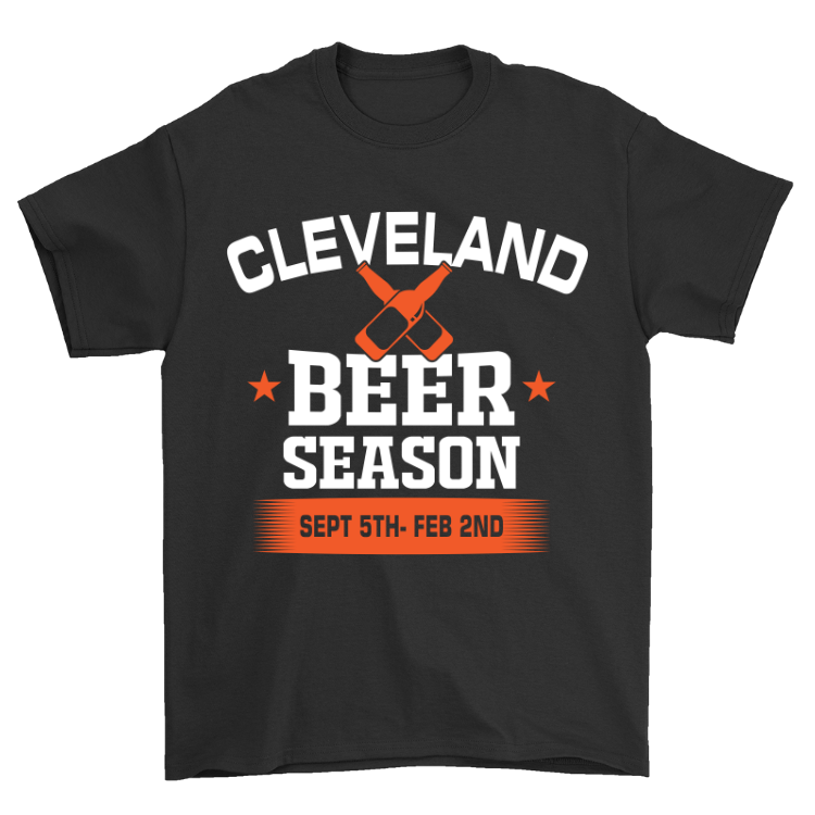Cleveland Beer Season T-Shirt