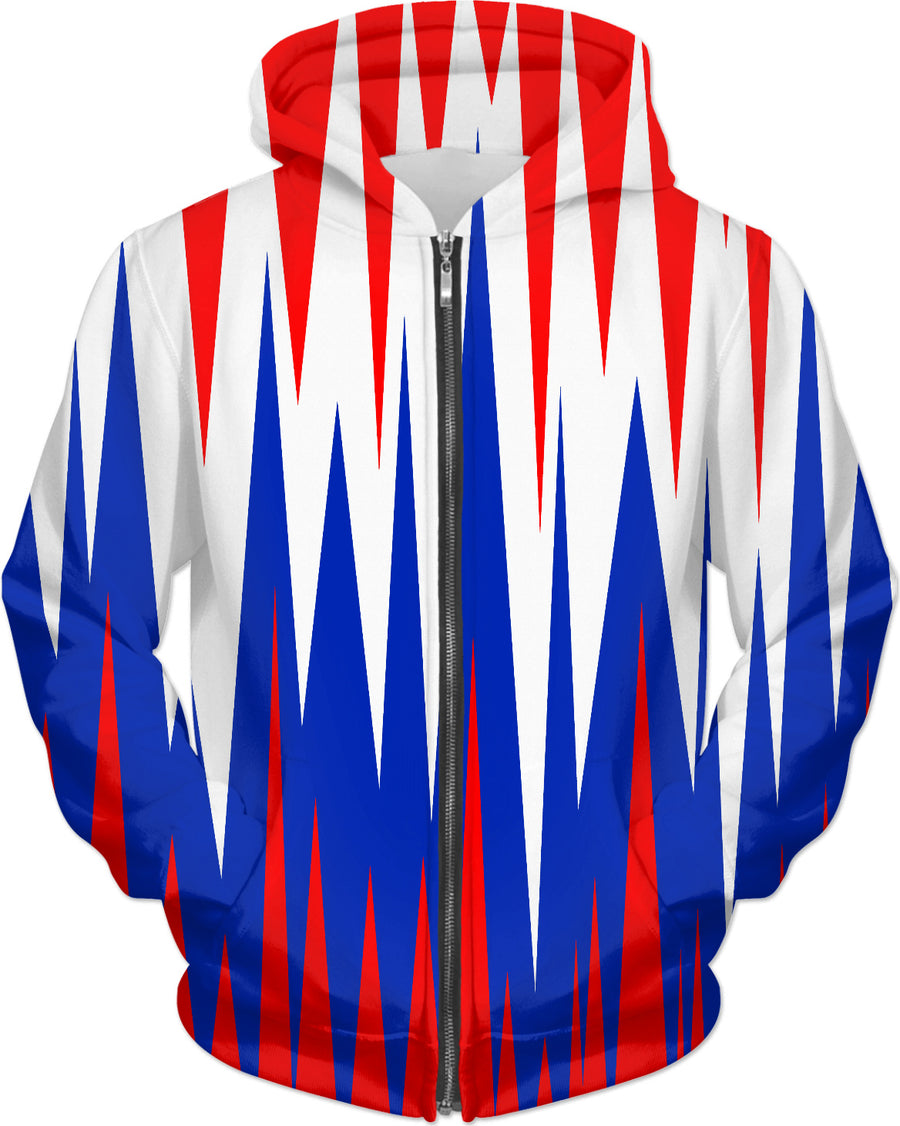 USA Abstract Hoodie