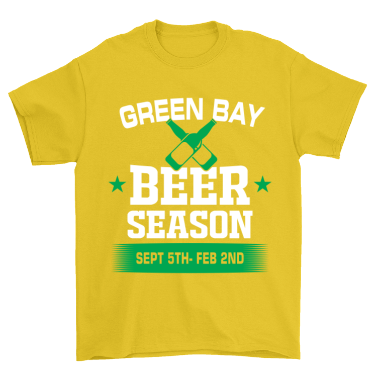 Green Bay Beer Season T-Shirt